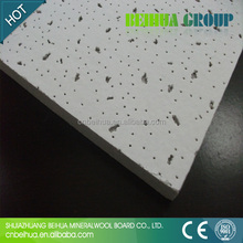 595*595 603*603 fire decorative rated mineral fiber acoustic ceiling tile