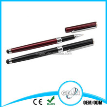 Promotional cheap 2 in 1 ball pen with stylus pen