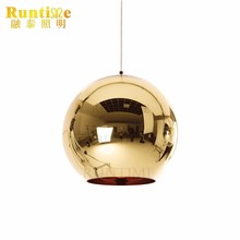 2017 Trending Products Glass Globe Hanging Light Pendant Lamp