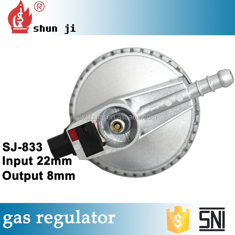 Hot sales High material reasonable price 340g natural gas regulator adjustment