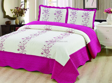 ultrasonic 3pc quilt set, turkish bedspread