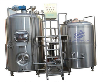 Commercial micro beer brwery equipment, small brewing equipment 300l per day capacity