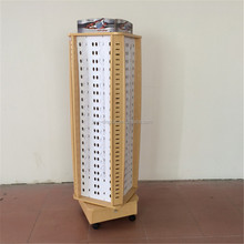 One-Stop Production Service Floorstanding Glasses Display Stand
