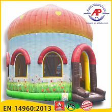 Customized PVC disco dome inflatable bounce house