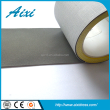 China grey heat press reflective tape heat transfer reflective tape for safety clothing