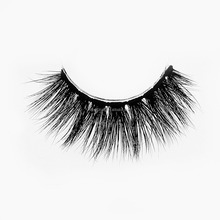 Beauty 100% Mink 3D Strip Lashes Cross False Eyelashes With Private Label Packaging