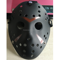 Classic Black Matte Jason Hockey Mask Plastic Freddy mask