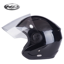 Huadun fashionable open face vintage motorcycle helmet for scooter
