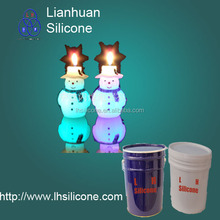 Lianhuan Silicone for molding candle wax products liquid silicone rubber make molds