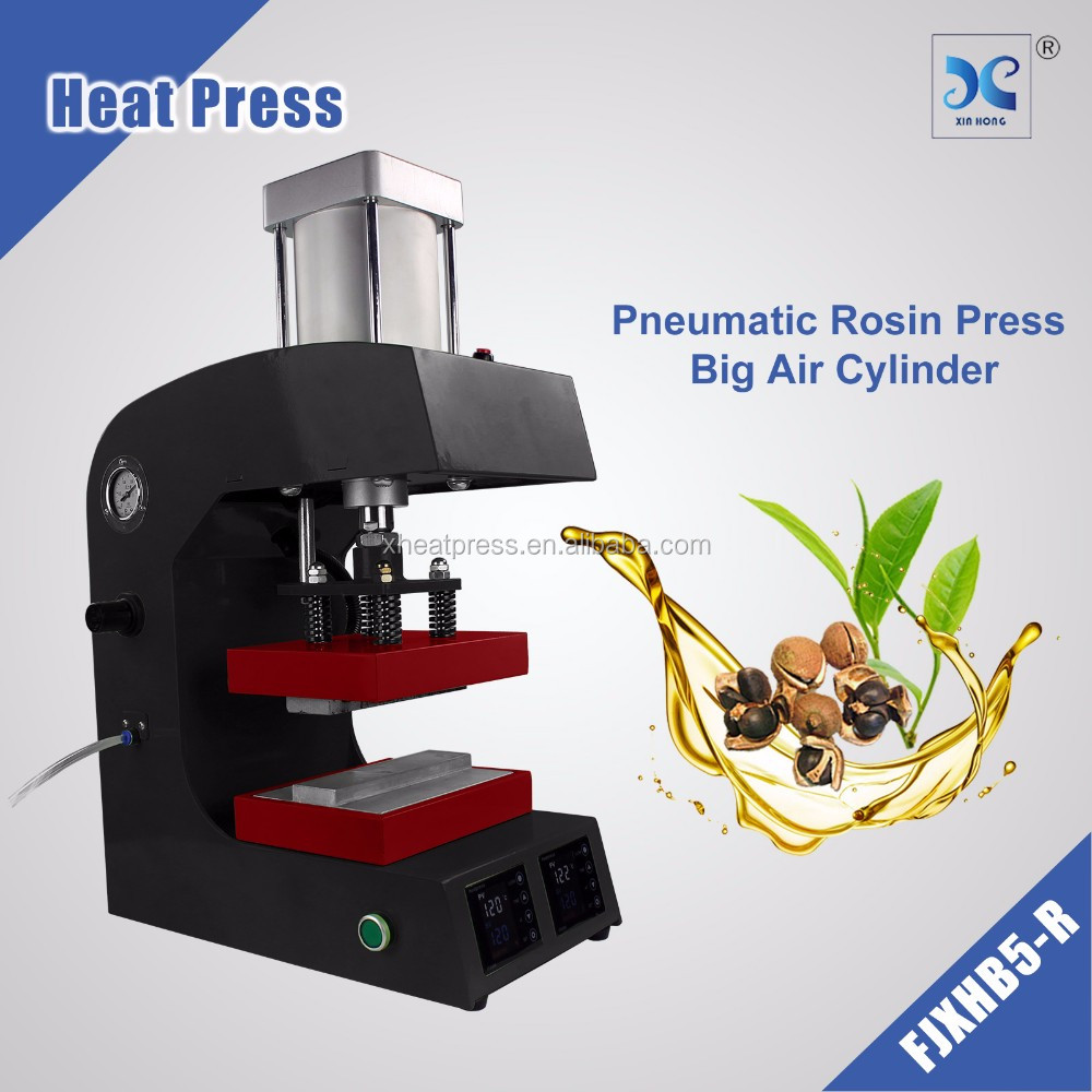 Automatic Electric FJXHB5-R Dual Heater Pneumatic Heat Rosin Press Machine