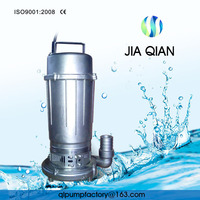 Drainage Small Stainless Steel Impeller Submersible Pump