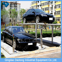 smart car parking device, vertical parking for pit