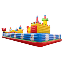 Kids giant inflatable bouncer and inflatable toys castle