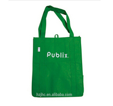 Cheap recyclable pp non woven green shopping bags lining materials