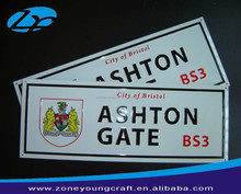 Sublimation aluminum license plate blank
