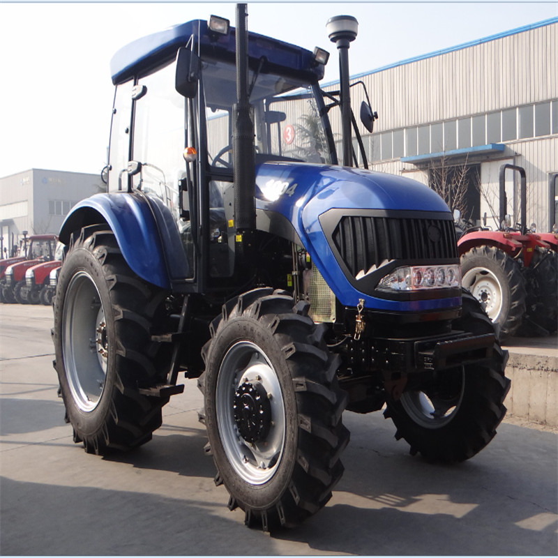 Agriculture machinery equipment 4x4 mini tractor 100hp farm tractor for sale