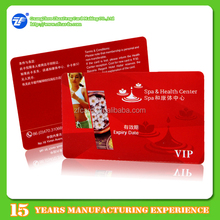 Compatible M1 13.56mhz rfid pre-paid membership card manufacturers