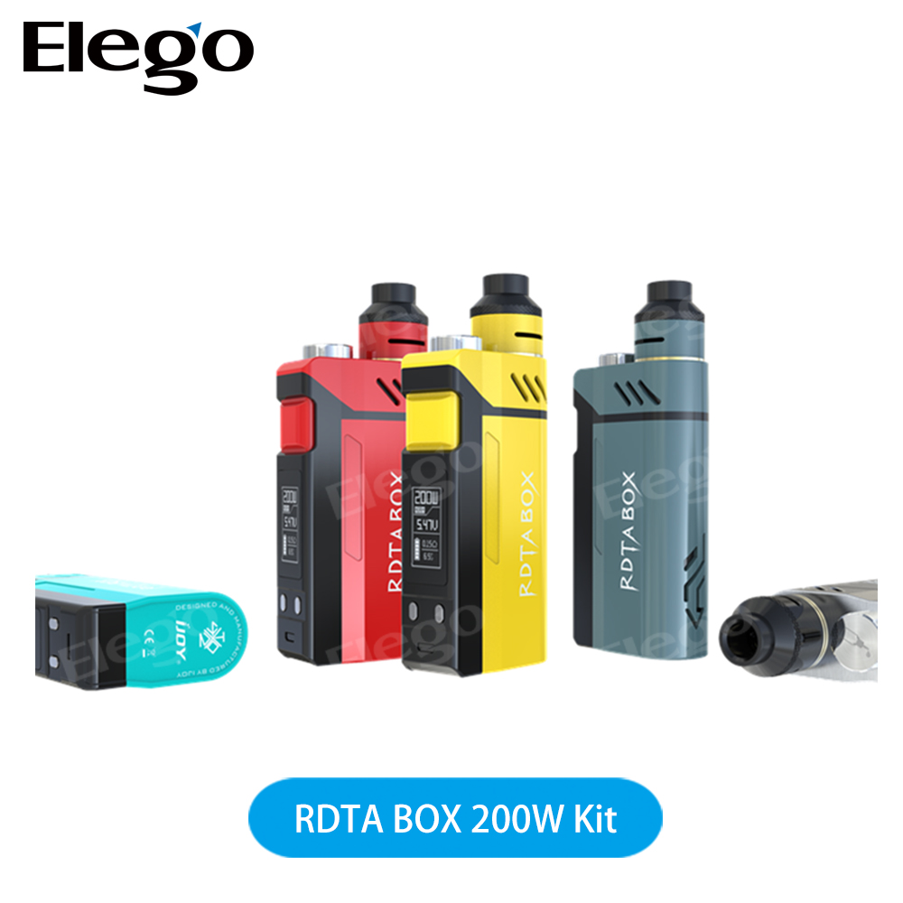 100% Authentic iJoy RDTA Box 200W Vape Kit with Large Tank