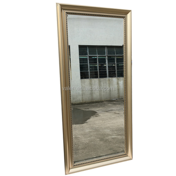 Hot Dressing Room Decorative Door Full Wall Modern Dressing Table Stand  Mirror Wholesale
