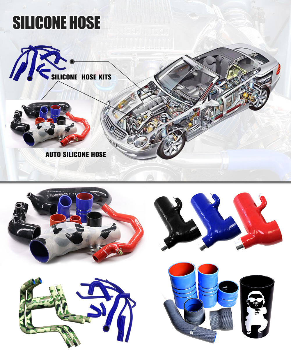 Silicone radiator hose kit Breather Hoses For Nissan Patrol GQ TB42s