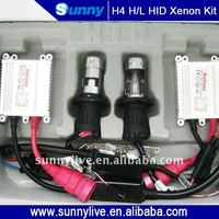 Hottest Sunny H4 Bi Xenon HID Kit With High Quality Slim Ballast -27