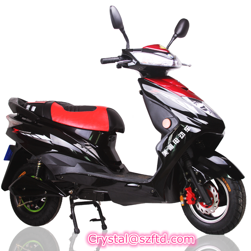 800W hot electric bike electric scooter lead acid electric motorcycle for sale