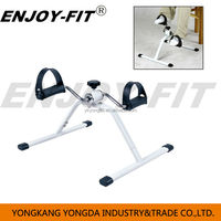 gym equipment folding pedal exerciser Folding Pedal Trainer mini cycle bike