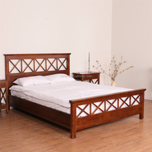 antique bedroom furniture set solid wood european classic king size bed
