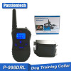 Hot selling electric dog shock collar 300m Remote control dog training collar with LCD display