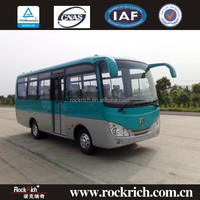 Manual Transmission 6.6m China Mini Bus 15 Seat