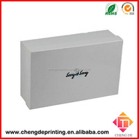 customized white shoe box cardboard