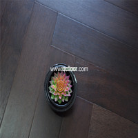engineered merbau herringbone floor wenge color