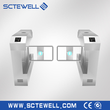 Automatic rfid Swing Gate Turnstile Barrier for pedestrian access control