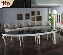 classical style conference room table-italian furniture made in china-conference room furniture meeting table