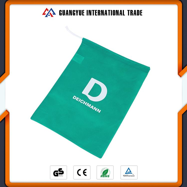 Guangyue Trending Hot Products Custom Logo Personalized Non Woven Drawstring Shoe Bag