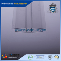 PC Profiles U H F for polycarbonate sheet connection