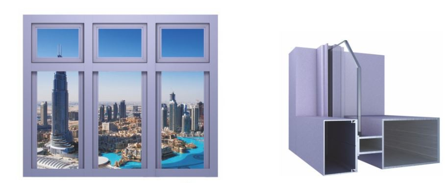 SX150 Curtain Wall System