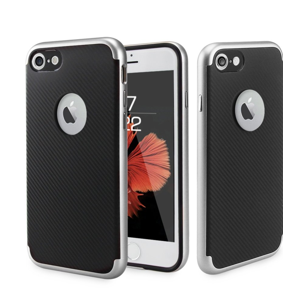 Newest 2in1 Anti Shock Holder Soft Hard Back Case Cover for iphone7