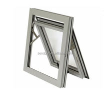 kin long hardware top hung window high quality double glazedrocker arm awning window&top hung window