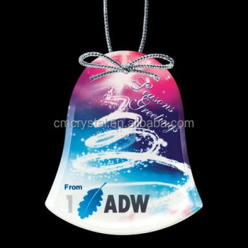 BELL Shape Christmas Ornaments,glass bell ornaments CCO035