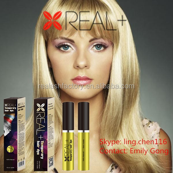 New brand red temporary hair dye hair mascara