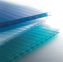 Customized thickness hollow polycarbonate sheet