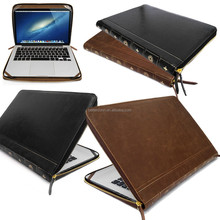 Smart Leather VINTAGE BOOK Laptop Folio Case, Cover Sleeve For Apple Macbook Air