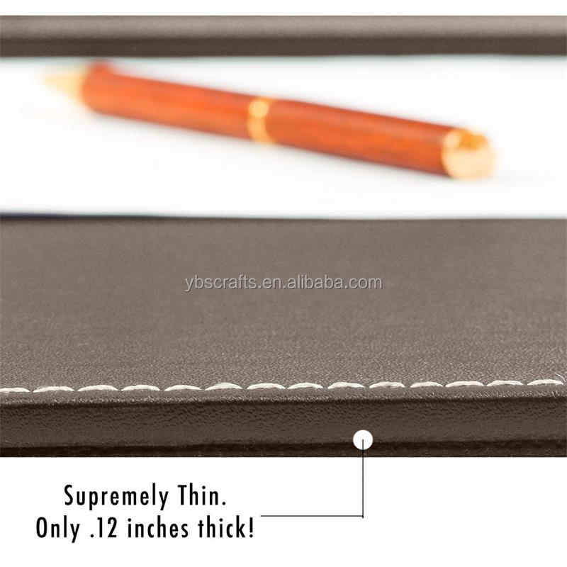High Quality Wholesale PU Leather Material Desk Pad &Mat