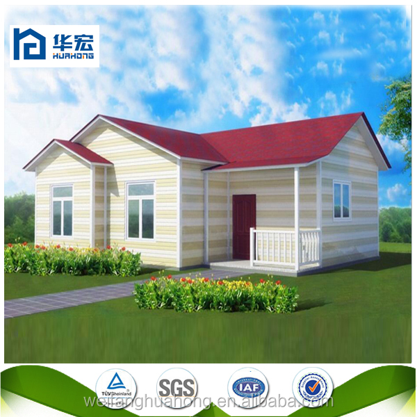 Beautiful prefab houses villas light steel structure small villa house low cost prefabricated house