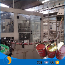 70g canned tomato paste production line