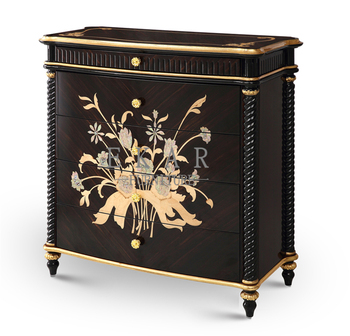 Classic Italian Livingroom Furniture Retro Furniture Drawer Chest For Living Room Boulle Furniture Arne Vodder