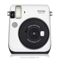 Fujifilm Instax Mini 70 Instant Polaroid Photo Film Fuji Camera - Moon White