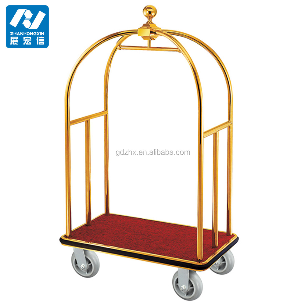 Airport luggage cart,airport baggage trolley