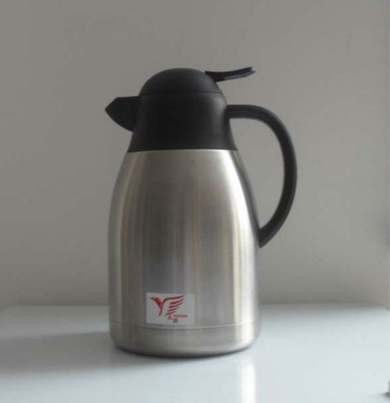 Double wall stainless steel thermos Antique Coffee Pot with pp lid
